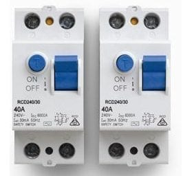 RCD switches